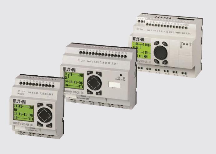 Eaton V/I moduli stare družine easy v kombinaciji z EC4P in ES4P