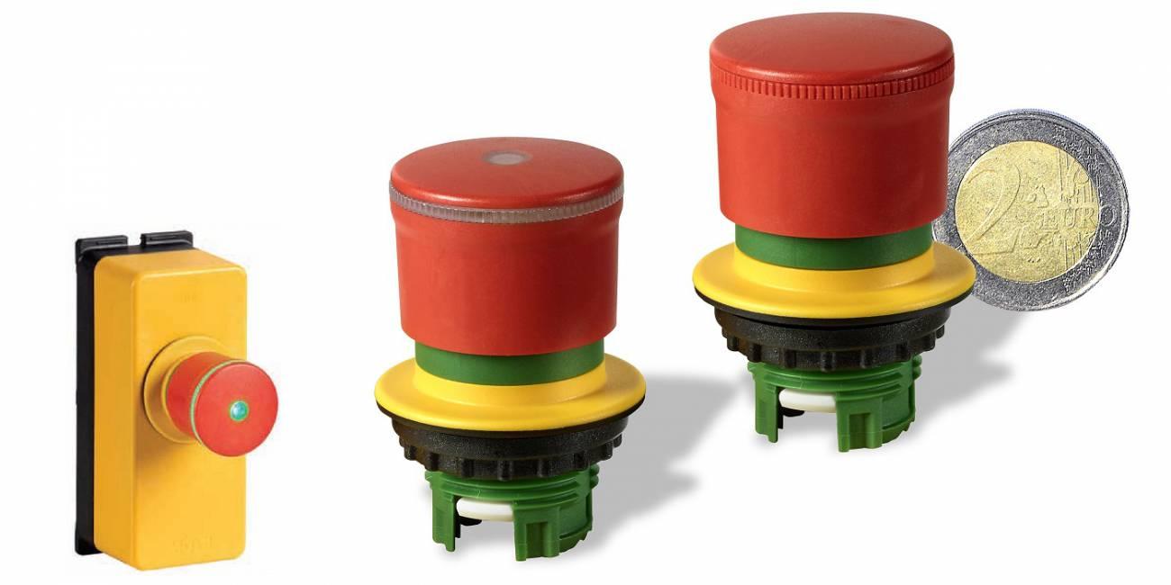 Eaton RMQ Titan z novo manjšo tipko za izklop v sili