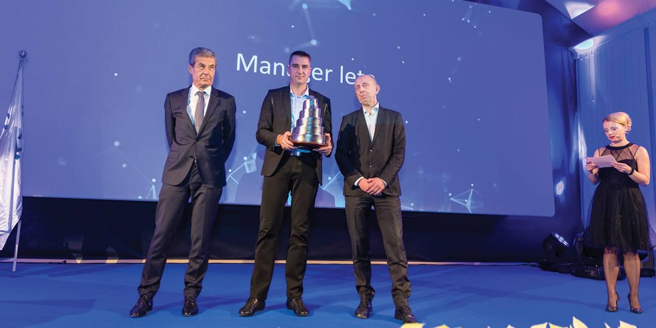 Dejan Velikanje is the Kolektor Manager of the Year